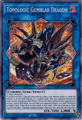Topologic Gumblar Dragon - BLRR-EN043 - Secret Rare - 1st Edition