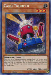 Card Trooper - BLRR-EN053 - Secret Rare - 1st Edition