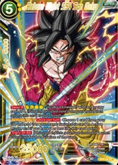 Reborn Might SS4 Son Goku - SD5-04 - ST