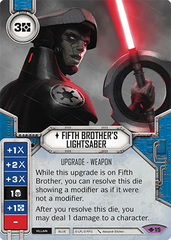 Fifth Brother's Lightsaber