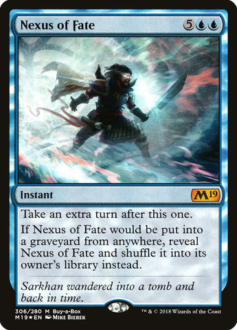 Nexus of Fate (Core Set 2019 Buy-a-Box Promo)