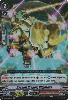 Assault Dragon, Blightops - V-EB01/010EN - RR