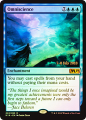 Omniscience (M19 Prerelease Foil) 7-8 July 2018