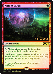 Alpine Moon (M19 Prerelease Foil) 7-8 July 2018