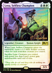 Lena, Selfless Champion (M19 Prerelease Foil) 7-8 July 2018