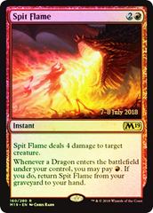 Spit Flame (Core Set 2019 Prerelease Foil)