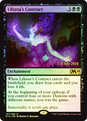 Liliana's Contract - Foil - Prerelease Promo