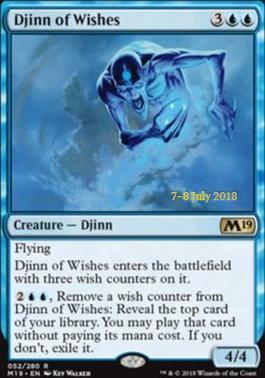 Djinn of Wishes - Foil - Prerelease Promo