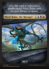 Nicol Bolas, the Ravager Checklist Card