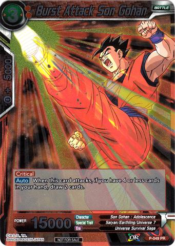 Burst Attack Son Gohan - P-049 - Promotion Cards
