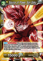 Source of Power Son Goku - P-053 - Promotion Cards