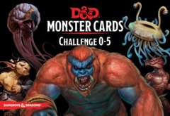 Dungeons & Dragons Monster Cards: Challenge 0–5