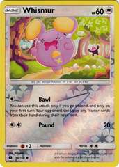 Whismur - 116/168 - Common - Reverse Holo