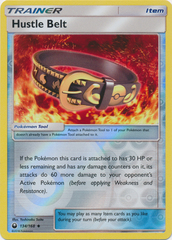 Hustle Belt - 134/168 - Uncommon - Reverse Holo