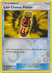 Last Chance Potion - 135/168 - Uncommon - Reverse Holo