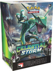 Pokemon SM07 Sun & Moon Celestial Storm Prerelease Kit (Build & Battle)