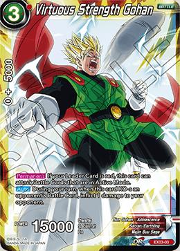 Virtuous Strength Gohan - Foil - EX03-03 - EX