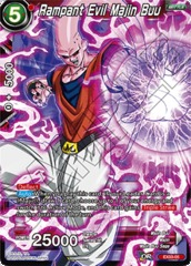 Rampant Evil Majin Buu - EX03-05 - EX