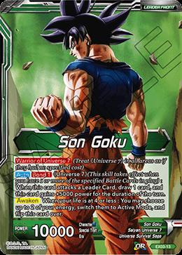 Son Goku // Explosive Power Son Goku - EX03-13 - EX