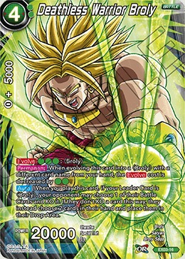Deathless Warrior Broly - Foil - EX03-16 - EX