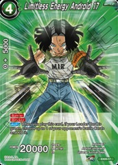 Limitless Energy Android 17 - Foil - EX03-17 - EX
