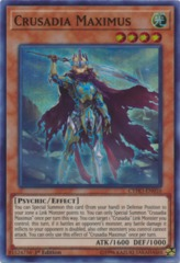 Crusadia Maximus - CYHO-EN010 - Super Rare - 1st Edition on Channel Fireball