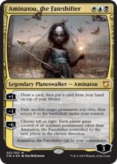Aminatou, the Fateshifter - Foil on Channel Fireball