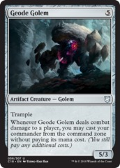 Geode Golem on Channel Fireball