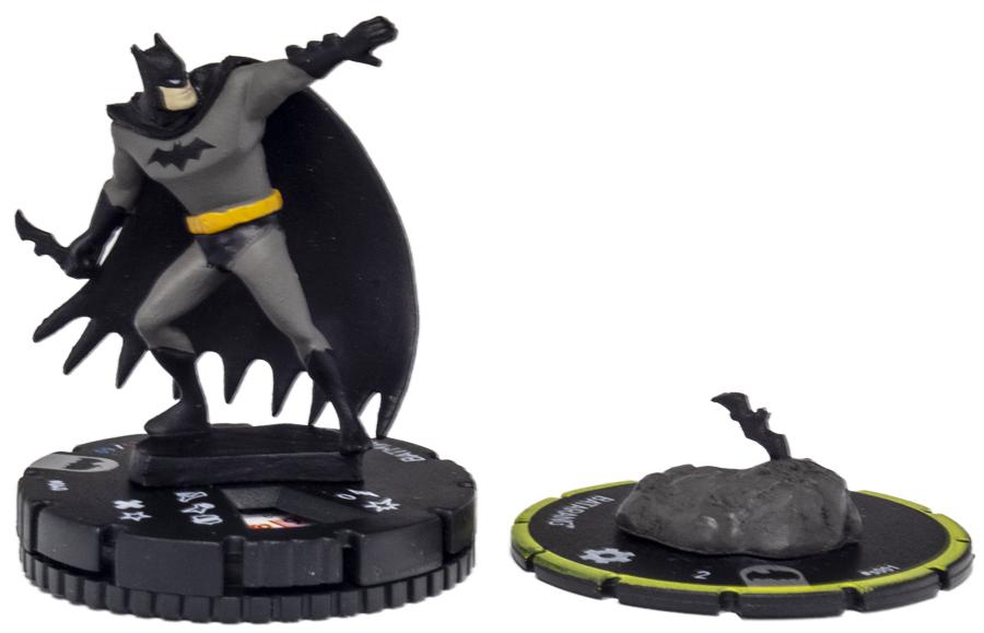 BATMAN /& BATARANG 040 S001 Batman The Animated Series DC HeroClix Rare