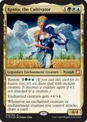 Kestia, the Cultivator - Foil on Channel Fireball