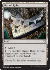 Buried Ruin on Channel Fireball