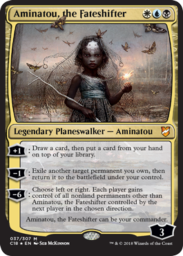 Oversized - Aminatou, the Fateshifter - Foil