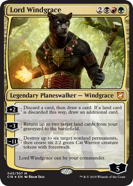 Oversized - Lord Windgrace - Foil