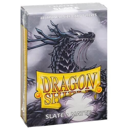 Dragon Shield Matte - Japanese size - Slate - 60 ct