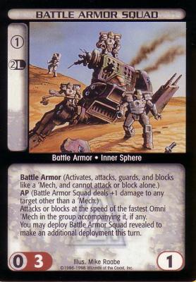 Battle Armor Squad