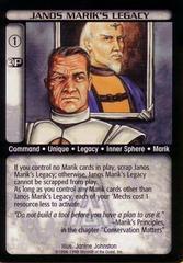 Janos Marikís Legacy