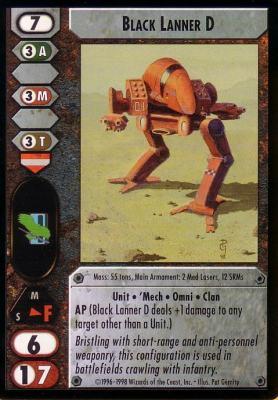 Black Lanner D