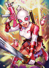 Deadpool #5 Heejin Jeon Marvel Battle Lines Var (STL097561)