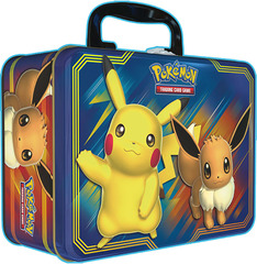 Pikachu And Eevee Collector's Chest Tin <b><i>*PRE-ORDER*</b></i>
