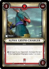 Alpha Gryph-Charger (Unclaimed) - Foil