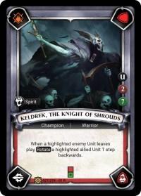 Keldrek, the Knight of Shrouds (Unclaimed) - Foil