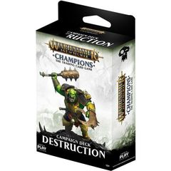 Warhammer Age of Sigmar Champions Campaign Deck: Destruction