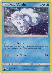 Alolan Vulpix - 21a/145 - Alternate Art Promo