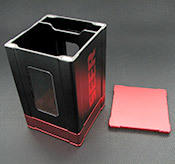 Box Gods Seer Deluxe Red Deck Box