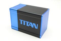 Box Gods Titan Deluxe Blue Deck Box
