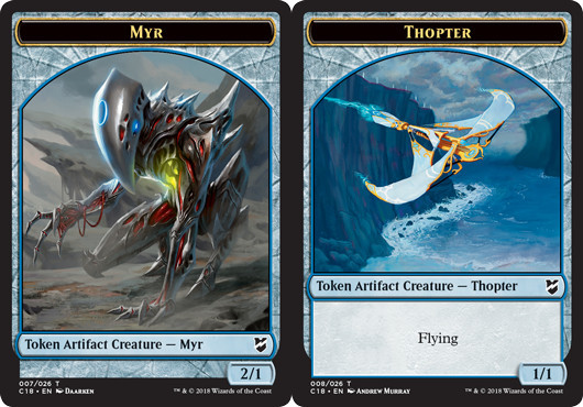 Myr Token (007) // Thopter Token (008) - Magic Singles » Special