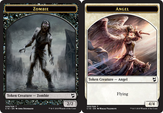 Zombie Token // Angel Token