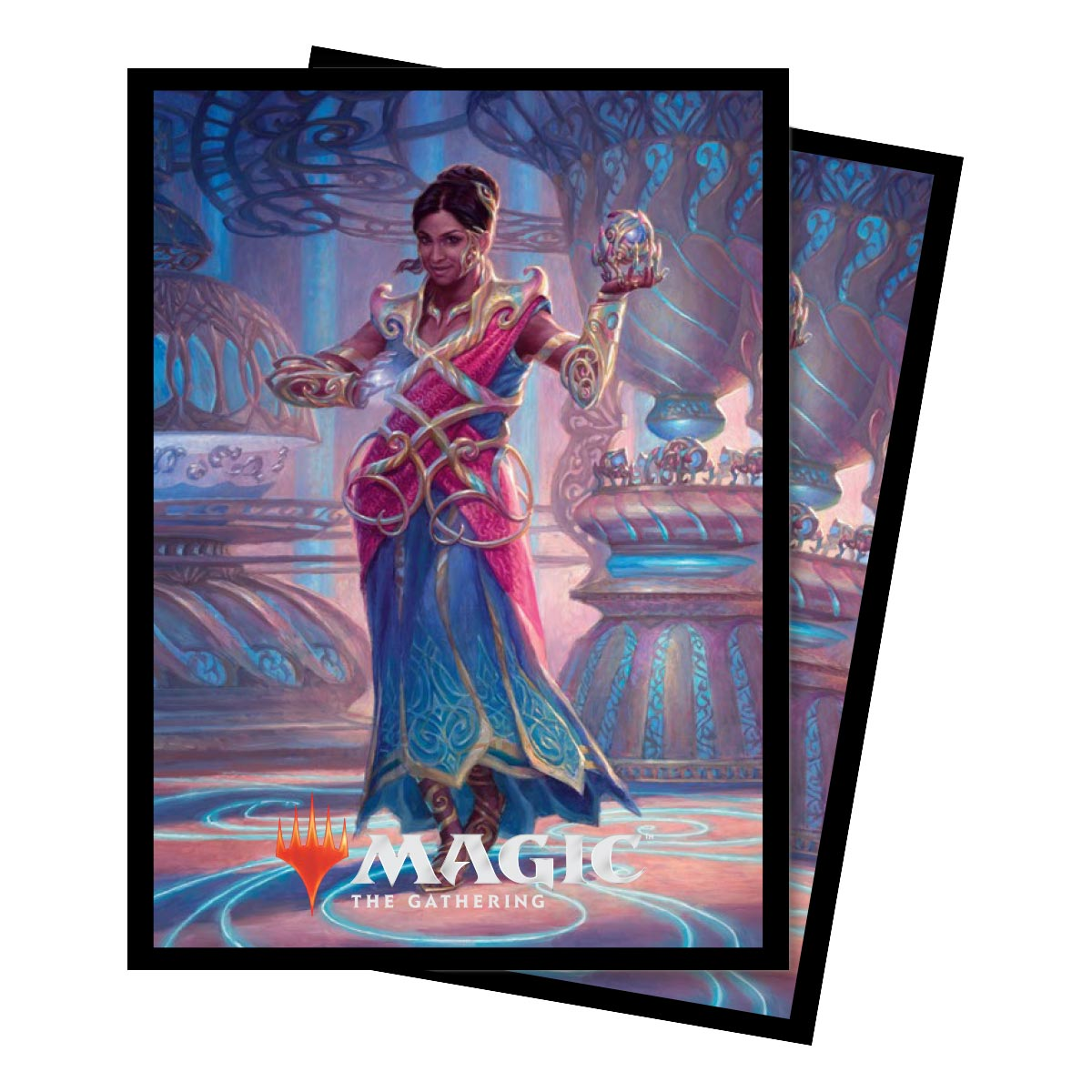 Ultra Pro - Commander 2018 Saheeli, the Gifted Standard Deck Protector sleeves 100ct