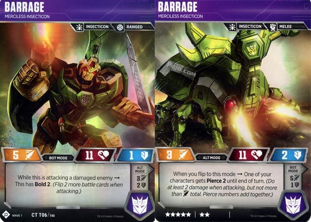 Barrage // Merciless Insecticon
