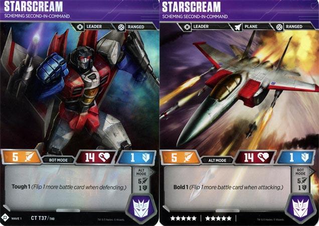 Starscream // Scheming Second-in-Command